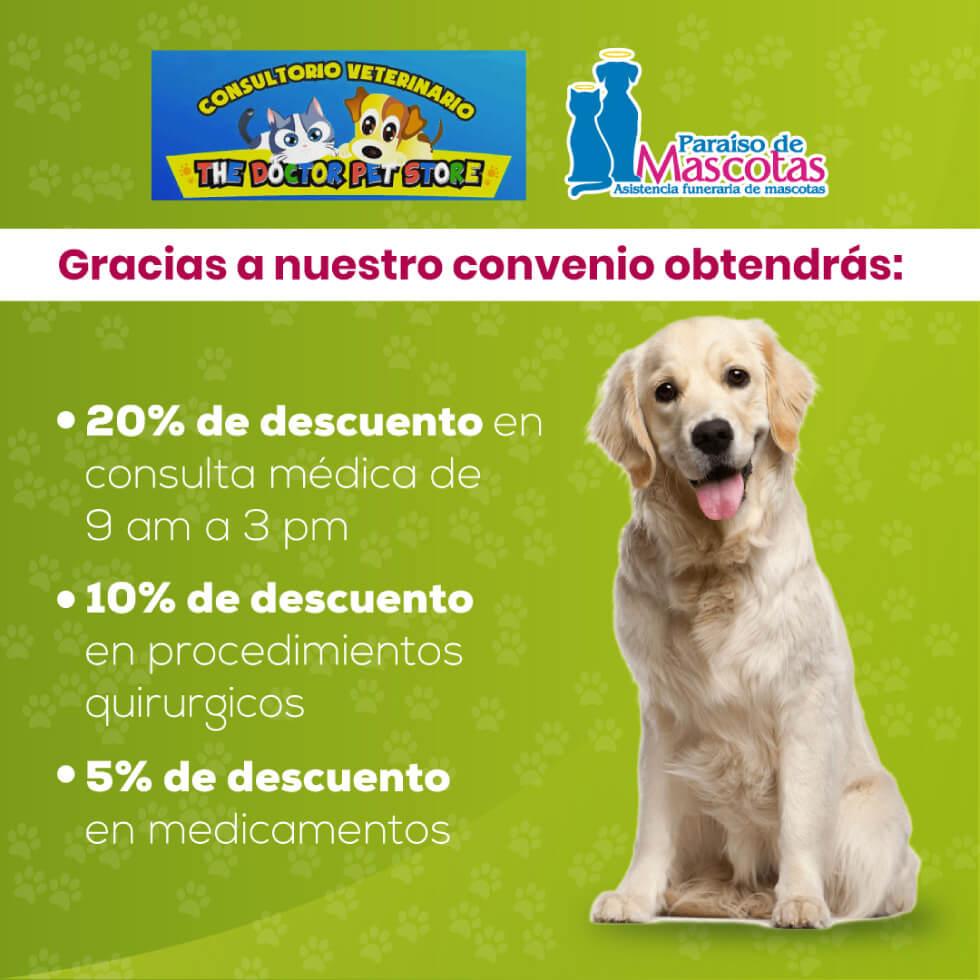 Alianza Paraiso de mascotas y The Doctor Pet Store