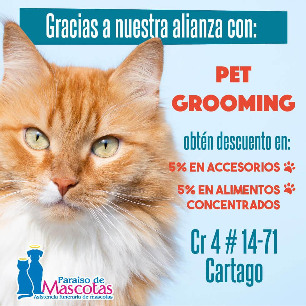 Alianza Paraiso de mascotas y Pet Grooming