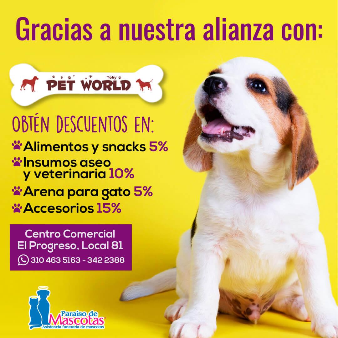 Alianza Paraíso de Mascotas y Pet World